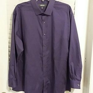 Men's Kenneth Cole Reaction Dress Shirt Size 17.5